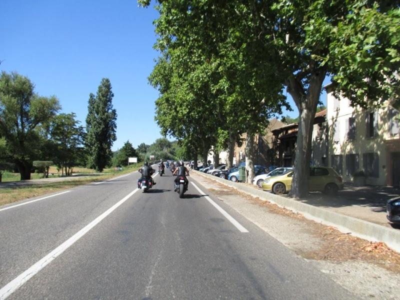 9 - Concentration moto au Chateau de Liman à Mornas (84) - 1 et 2 août 2015